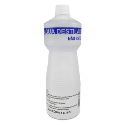 Água Destilada 1 Litro Cinord
