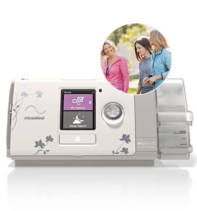 CPAP AutoSet AirSense 10 para Ela com Umidificador- ResMed
