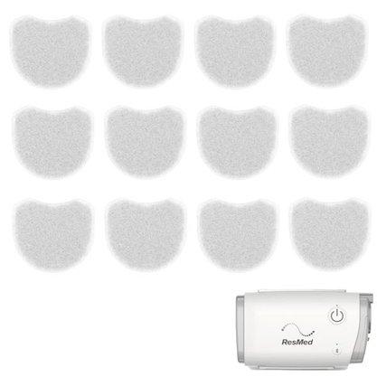 KIT 12 Filtros para CPAP Autoset AirMini - Resmed