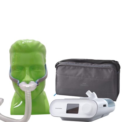 KIT CPAP Auto Dreamstation + Umidificador + Máscara P10