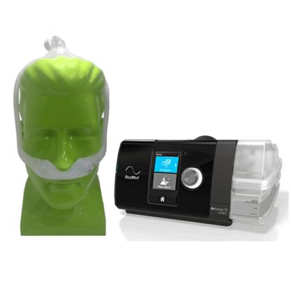 KIT Cpap Automático Airsense com Umidificador + Máscara DreamWear