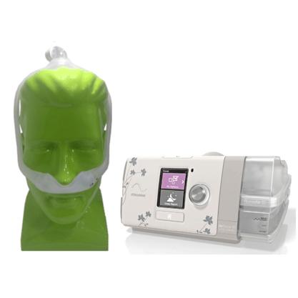 Kit CPAP Automático Autoset forher + Máscara Dreamwear