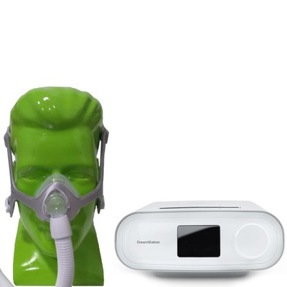 Kit CPAP Automático Dreamstation e Wisp Philips