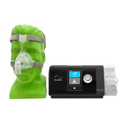 KIT CPAP Automático + Umidificador + Máscara Mirage FX Resmed
