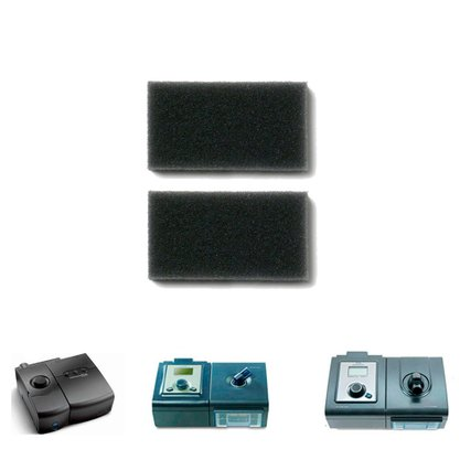 Kit Filtro de Espuma Original 2 unid CPAP / BiPAP M-Series e System One - Philips Respironics